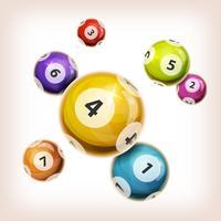 Snooker Balls Hintergrund vektor