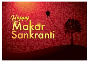 Glücklicher Makar Sankranti