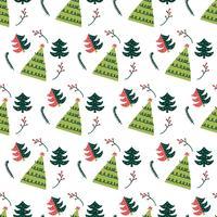 Weihnachtsbaum-Muster-Vektor