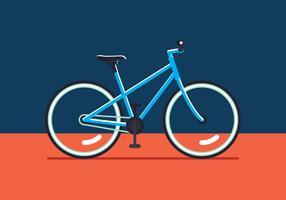 Fahrrad-Vektor vektor