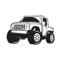 extremes Offroad-Fahrzeugdesign-Illustrationsvektor-Eps-Format, geeignet für Ihre Designanforderungen, Logos, Illustrationen, Animationen usw. vektor