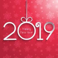 Frohes neues Jahr Hintergrund vektor