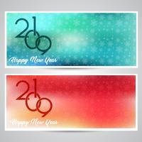 Dekorative Hintergründe des guten Rutsch ins Neue Jahr