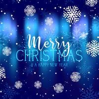 Frohe Weihnachten Hintergrund vektor