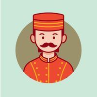Bellhop vektor avatar