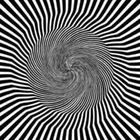 abstrakter hypnotischer psychedelischer Hintergrund. Vektor-Illustration eps10 vektor