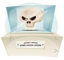 Homo Sapiens ausgestorbene Arten vektor