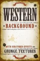 Vintage Western Hintergrund