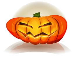 Halloween-Kürbis-Charakter