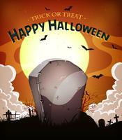 Halloween Urlaub Hintergrund vektor