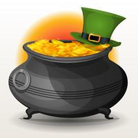 St Patrick's Day Cauldron vektor
