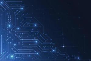 abstrakter digitaler Hintergrund mit Technologieplatinenbeschaffenheit. elektronische Motherboard-Illustration. Kommunikations- und Engineering-Konzept. Vektorillustration vektor