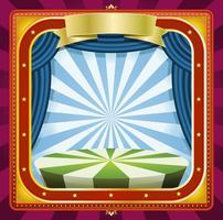 Zirkus-Hintergrund