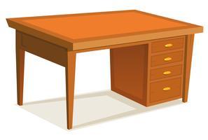 Cartoon-Schreibtisch