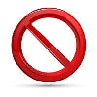 Förbjudet tecken