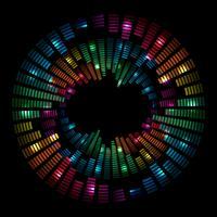 Musikalisk bakgrund vektor