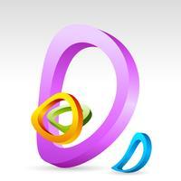 Kreisförmiger Hintergrund vektor