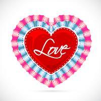 Kärlek Banner vektor