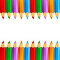 Färgpenna vektor