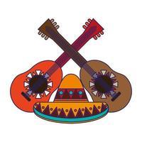 mexiko kultur karikaturen vektor