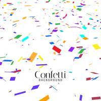 Abstrakt färgrik konfetti dekorativ bakgrund