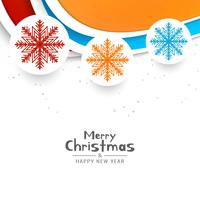 Abstrakter Festivalgrußhintergrund der frohen Weihnachten vektor