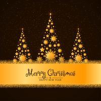 Elegant god jul hälsning bakgrund
