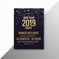 2019 nyårsfest broschyr fest mall