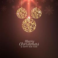 Abstrakter Feiergrußhintergrund der frohen Weihnachten