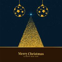 Abstrakter stilvoller Festivalhintergrund der frohen Weihnachten