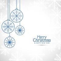 Abstrakter stilvoller Hintergrund der frohen Weihnachten vektor