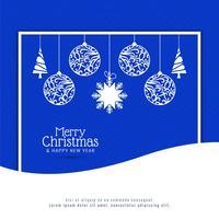 Abstrakter Feierfeierhintergrund der frohen Weihnachten vektor