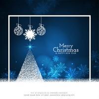 Abstrakter Hintergrund der frohen Weihnachten vektor