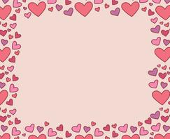 doodled hearted ram vektor