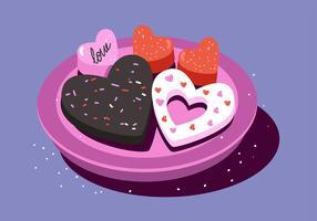 Valentine Süßigkeiten Herzen