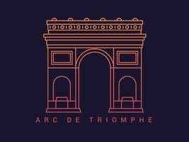 Einzigartige Paris-Vektoren