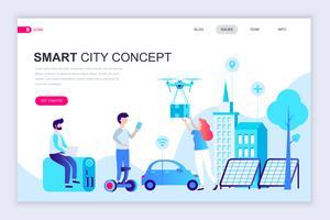 Smart City Technology Web-Banner vektor