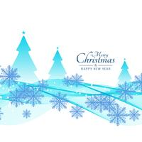 Abstrakt Glad jul vacker bakgrund vektor