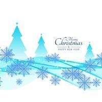 Abstrakter schöner Hintergrund der frohen Weihnachten vektor