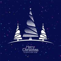 Abstrakt Glad julfestival fest bakgrund vektor
