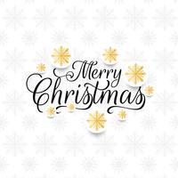Abstrakt dekorativ elegant Glad jul bakgrund vektor