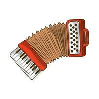 Akkordeon Musikinstrument vektor