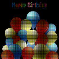 Alles Gute zum Geburtstag vektor
