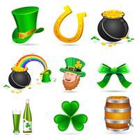St. Patrick's Day Elemente vektor