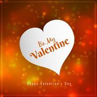 Abstrakt Glad Valentinsdag ljus bakgrund vektor