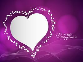 Abstrakter reizender glücklicher Valentinstaghintergrund vektor