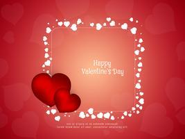 Abstrakter glücklicher stilvoller Hintergrund des Valentinstags