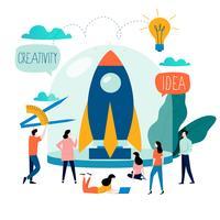 Företagsprojektstartsprocessen