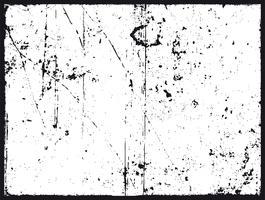 grunge konsistens i svart och vitt vektor