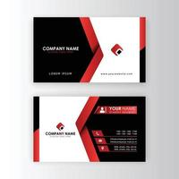 Vektor moderne kreative und saubere Visitenkartenvorlage